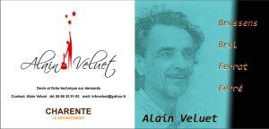 Alain Veluet posterfoto