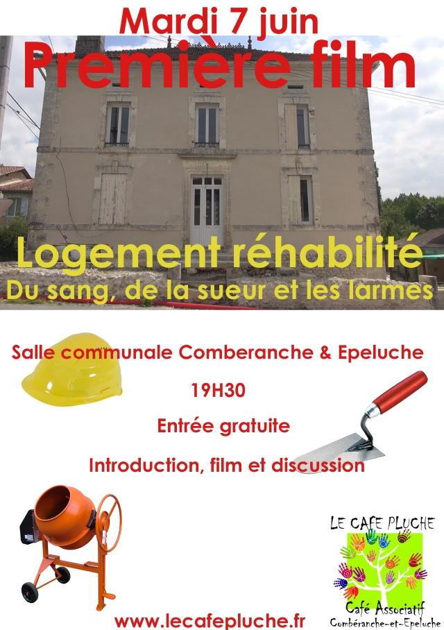 Affiche Logement rehabilite 2