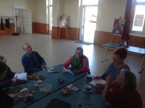 Tea-time at Café-Pluche