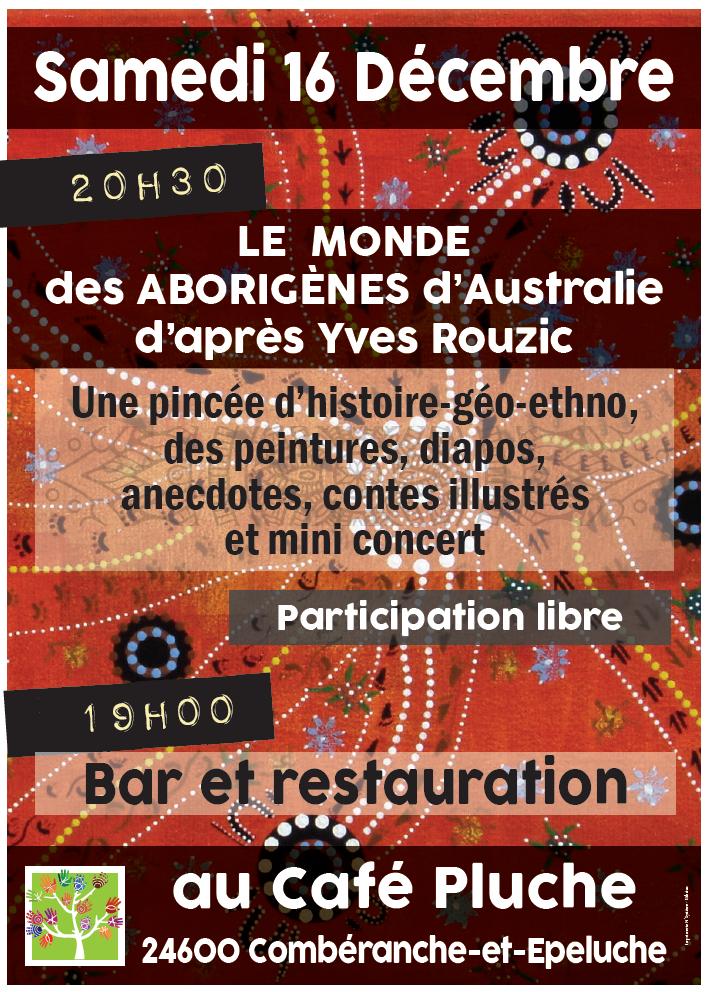 Le monde des  Aborigènes d'Australie d'après Yves Rouzic