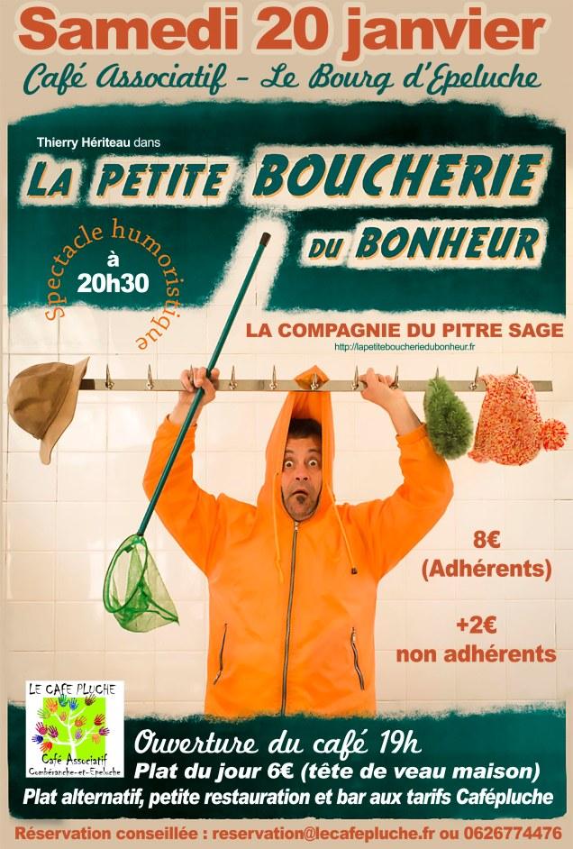 Affiche La Petite Boucherie Du Bonheur envoi (1)
