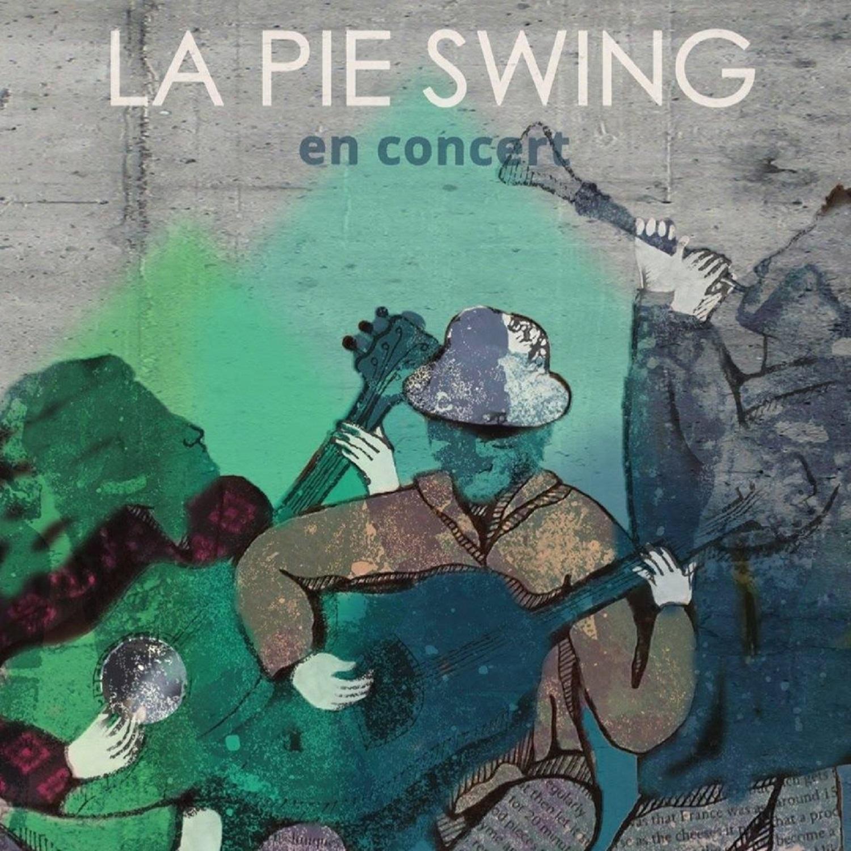 La Pie Swing (jazz-swing) revient au café Pluche le 23 mars