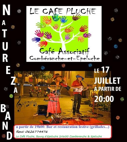 Natureza Band Pluche (1)