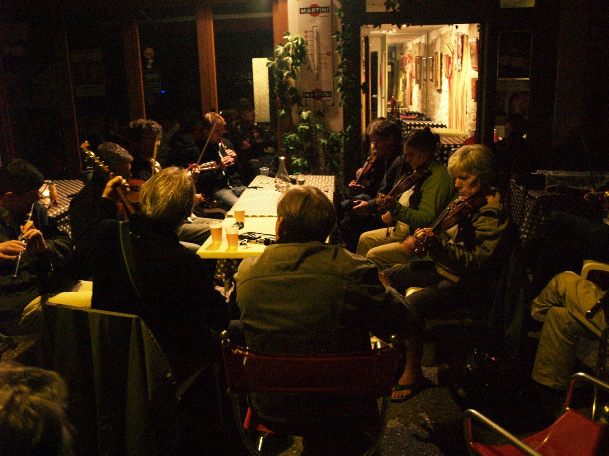 Samedi 15 février: Soirée musique Irlandaise au Café Pluche
