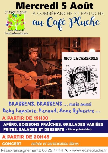 2020-08-05 Nico la Cambriole