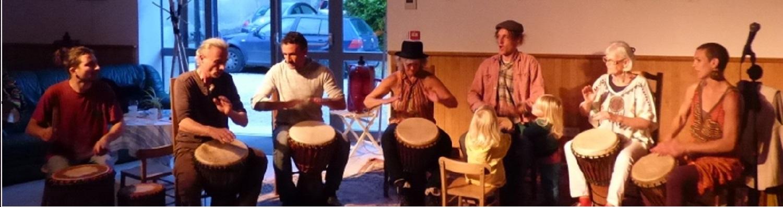 Reprise des cours de percussions Africaines le mercredi 16 Septembre à 18h30