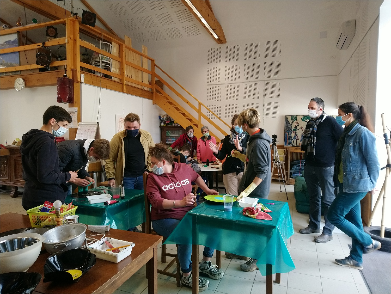 Un Répare Café Spécial Jeunes avec la MFR